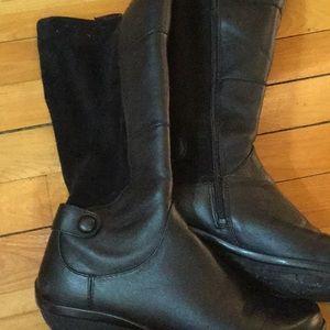 5b502779a301 Dansko Shoes - Dansko wide calf tall boots